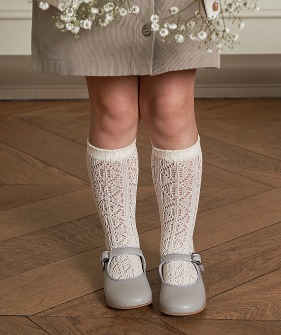 Louisa Socks - White
