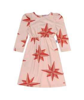 Compass Puffed Dress ★ONLY 3-4Y★