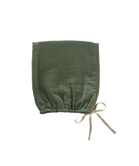 Pixie Bonnet - Olive ★ONLY 6-18M★
