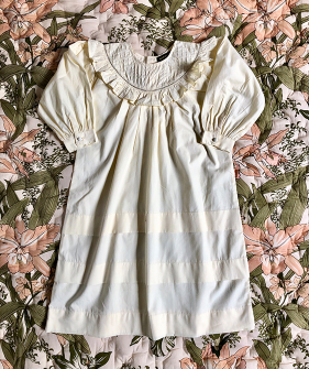 Romantic Dress - Ivory