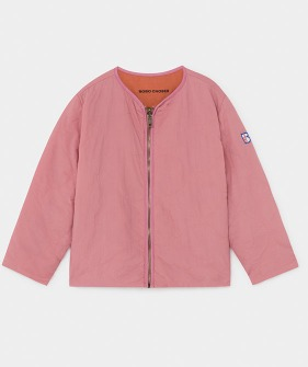 Reversible Bird Embroidery Quilted Jacket (Kid) #01175