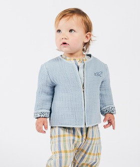 Bird Zipped Jacket (Baby) #00103