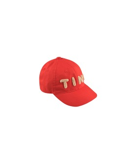 Tiny Cap - Red/Light Cream