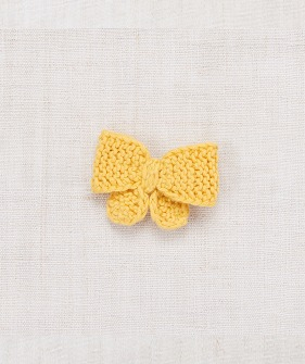 Medium Puff Bow - Sunflower