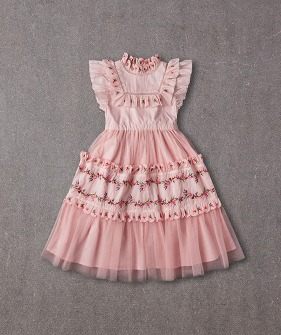 [SCRATCH] Julianna Dress (N20S061) - Peaches ★ONLY 8Y★
