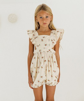 Olle Romper - French Floral