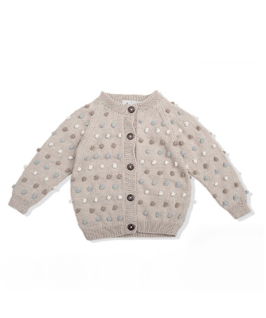 Bubble Cardigan - Spring Disco