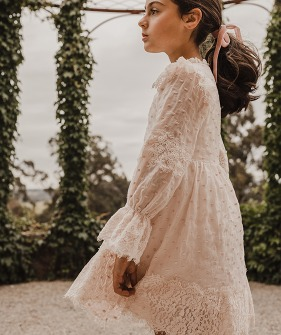 Elizabeth Dress - Blush
