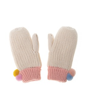 Dreamy Rainbow Knit Mittens ★ONLY 7-10Y★