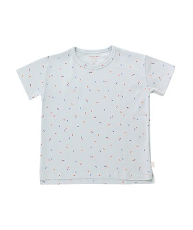 Sticks Tee - Pale Grey