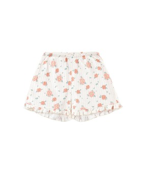 Anchi Shorts - Off White Flowers ◆입고지연◆