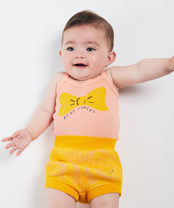 Bow Sleeveless Body  (Baby) #00027