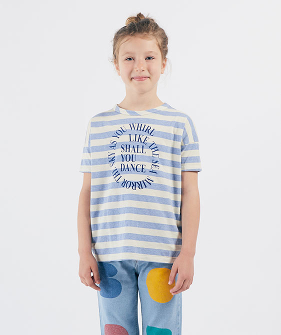 Shall You Dance Striped T-Shirt  (Kid) #01015