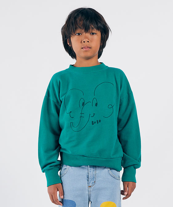 Elephant Sweatshirt (Kid) #01041