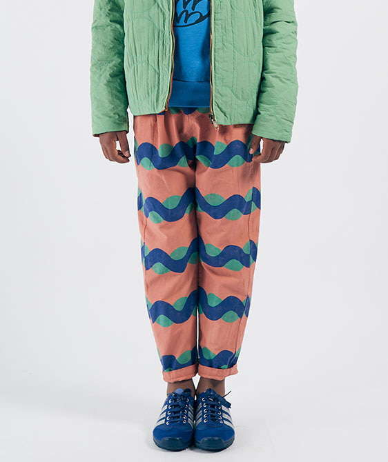 All Over Sea Baggy Trousers (Kid) #01090