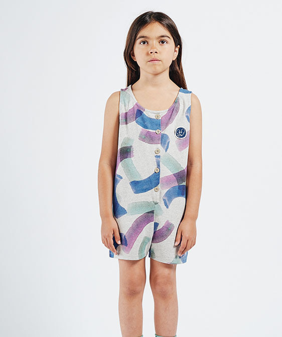 All Over Painted Playsuit (Kid) #01099