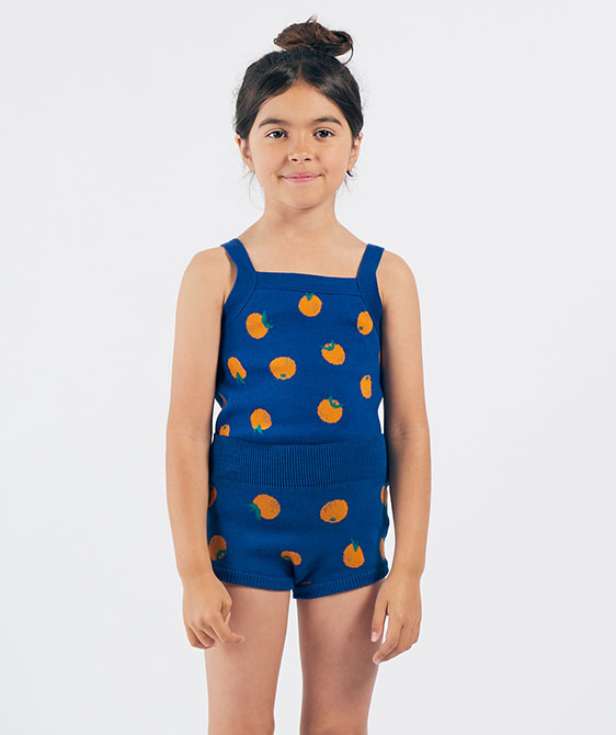 Oranges Knitted Tank Top (Kid) #01184 ★ONLY 2-3Y★