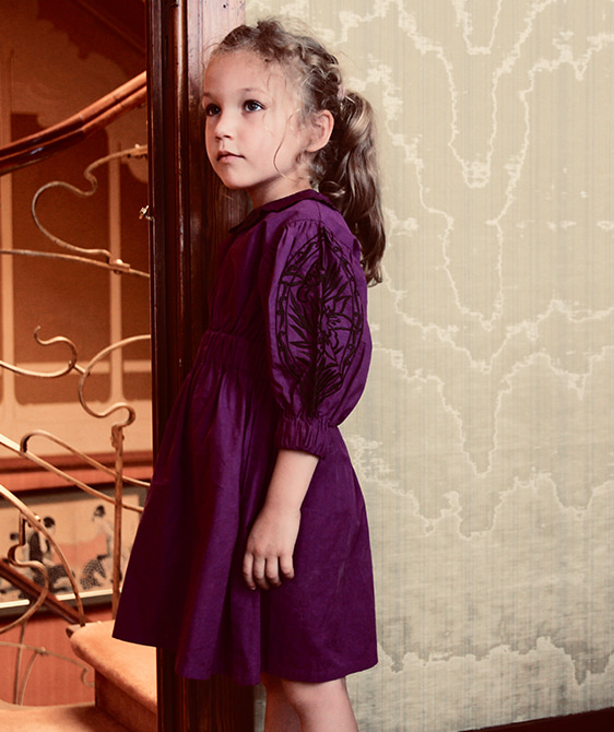 Marie Dress - Purple