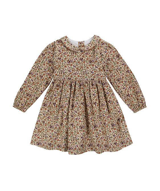 Dorothy Dress - Autumnal Floral ★ONLY 3-4Y★