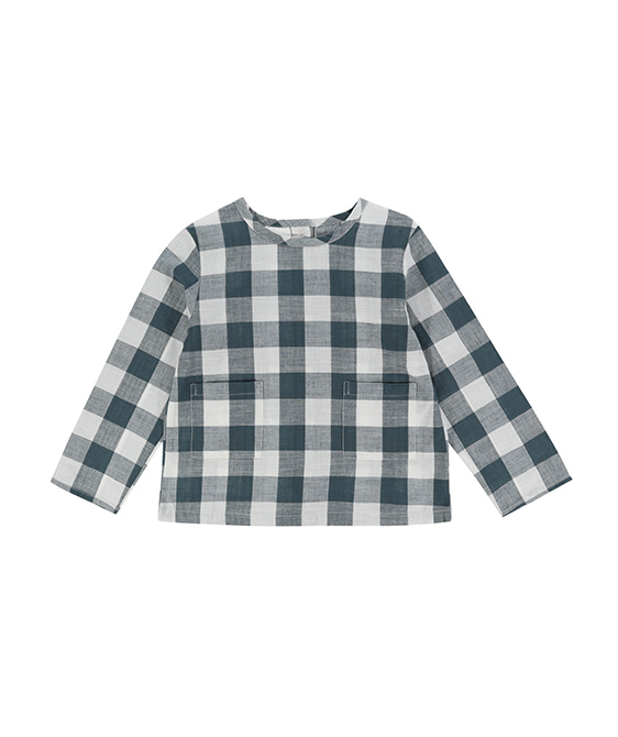 St Ives Shirt - Teal Gingham