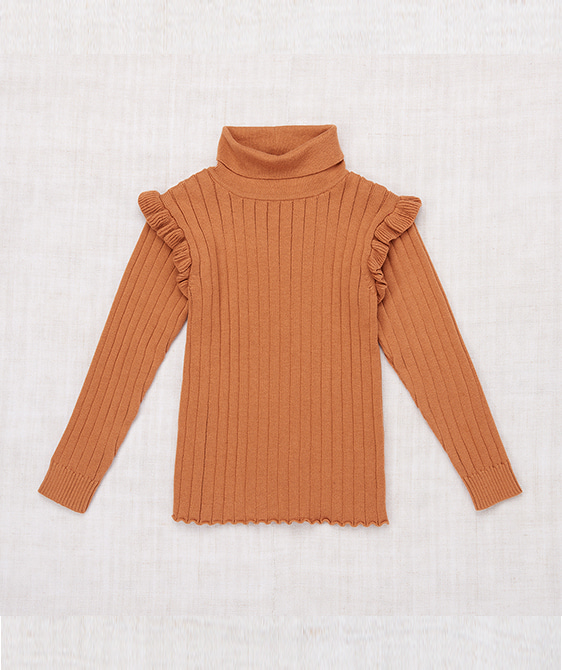 Ida Turtleneck - Rose Gold