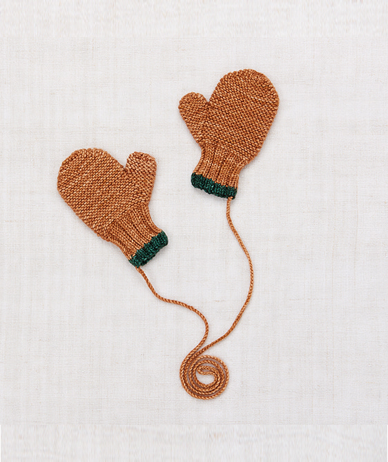 Safe Harbor Mittens - Rose Gold