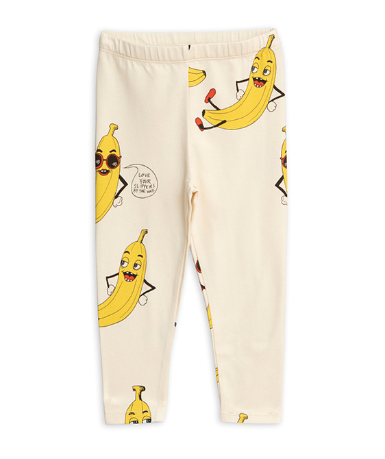 Banana Aop Leggings - Offwhite