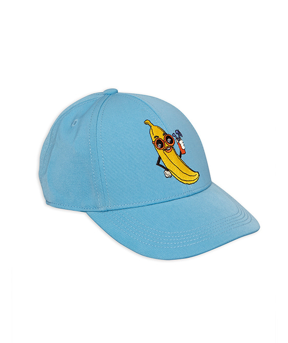 Banana Embroidery Cap - Light Blue
