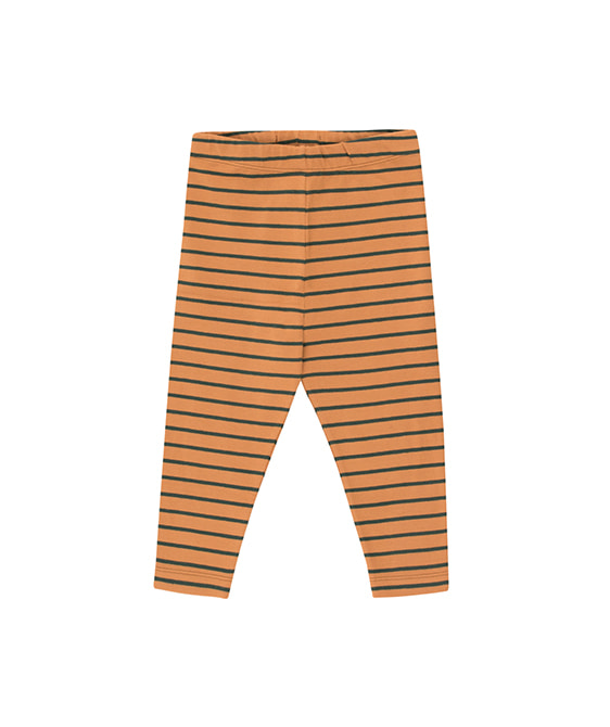 Stripes Pant - Brown/Bottle Green