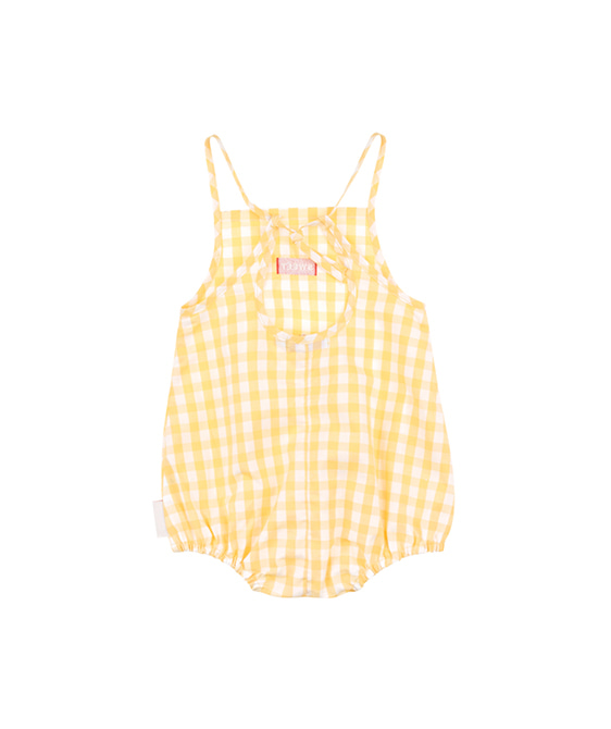 Check Body - Off-White/Canary ★ONLY 18M★
