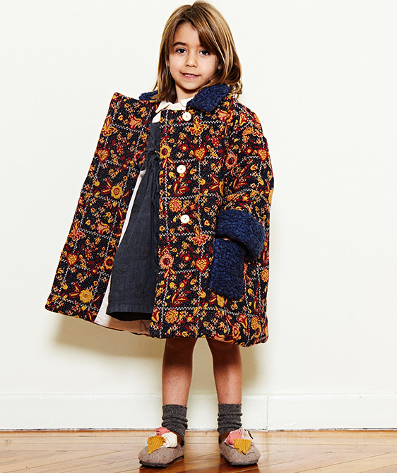 Jacquard Coat  - One Color