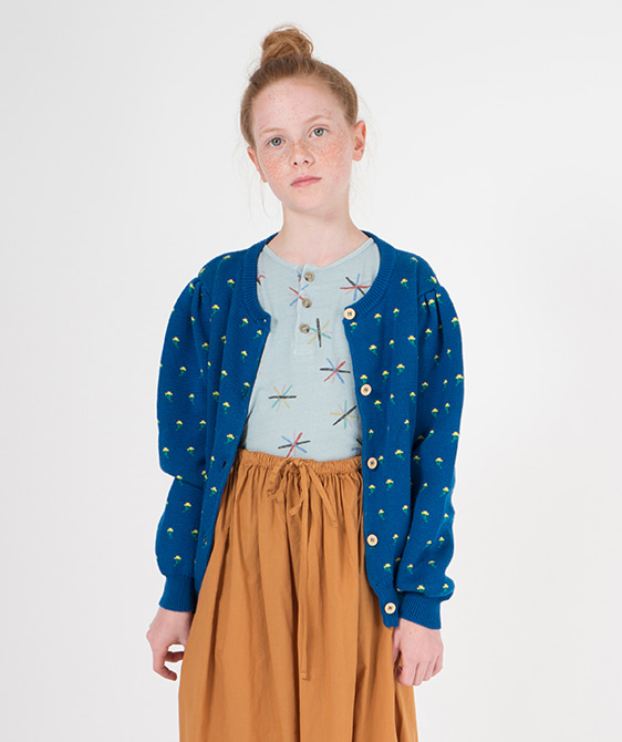 Flowers Cardigan #116 ★ONLY 2-3Y★
