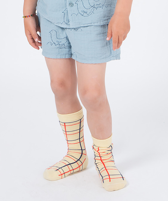 Lines Long Socks (Baby&Kid) #130