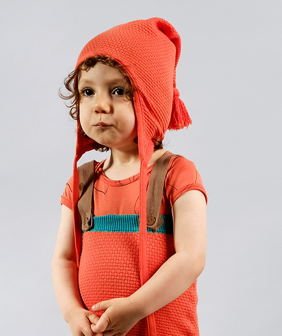Helga Orange hat ★ONLY 6-12M★