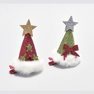 Christmas Party Hat Hair Clip - 2 Colors