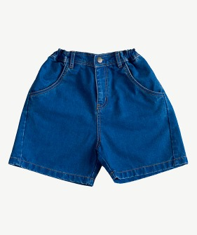 Denim Short - Blue Denim_MS066
