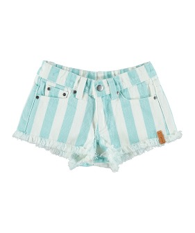 Shorts - Light Blue Stripes