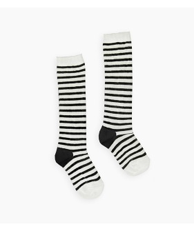 High socks Stripe Basic - Off white