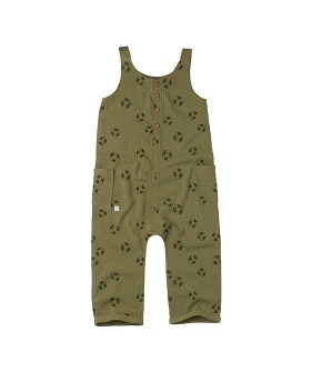 Jumpsuit print Lifebuoy - Tropical green ★ONLY 18-24M★