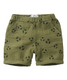 Shorts print Lifebuoy - Tropical green