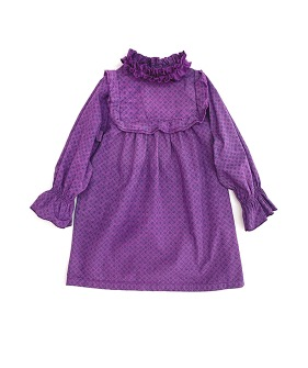 Long Live the Volant Dress #20214 - Purple ★ONLY 4Y★
