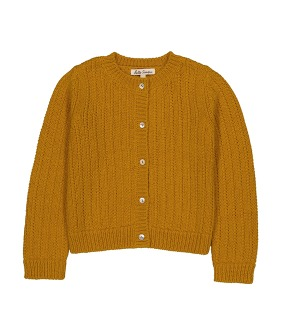 June Cardigan - Yellow