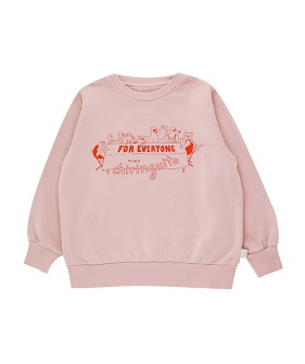 For Everyone Sweatshirt - Dusty Pink/Red ★ONLY 2Y★