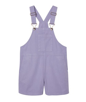 Wide Slouchy Fit Dungaree - Eventide