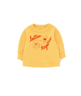 Better Together Baby Sweatshirt - Yellow/Red ★ONLY 18M★