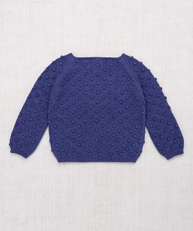 Summer Popcorn Sweater - Blue Violet