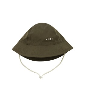 ◆2DROP◆ Tiny Solid Bucket Hat - Green ★ONLY M★