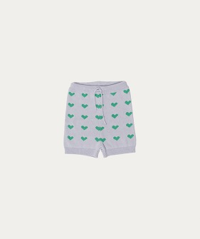 Knit Shorts (TC-SS21-27) - Heart Knitted