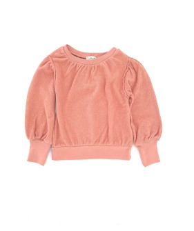 21128 Puffed Sweater - Rose (934)