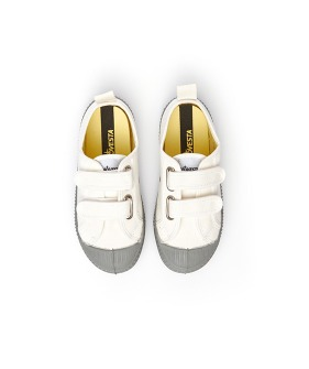 Star Master Kid Velcro - White/Grey